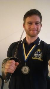 Kool swordfish medaille