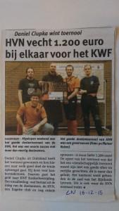HVN Leids nieuwsblad 16-12-2015